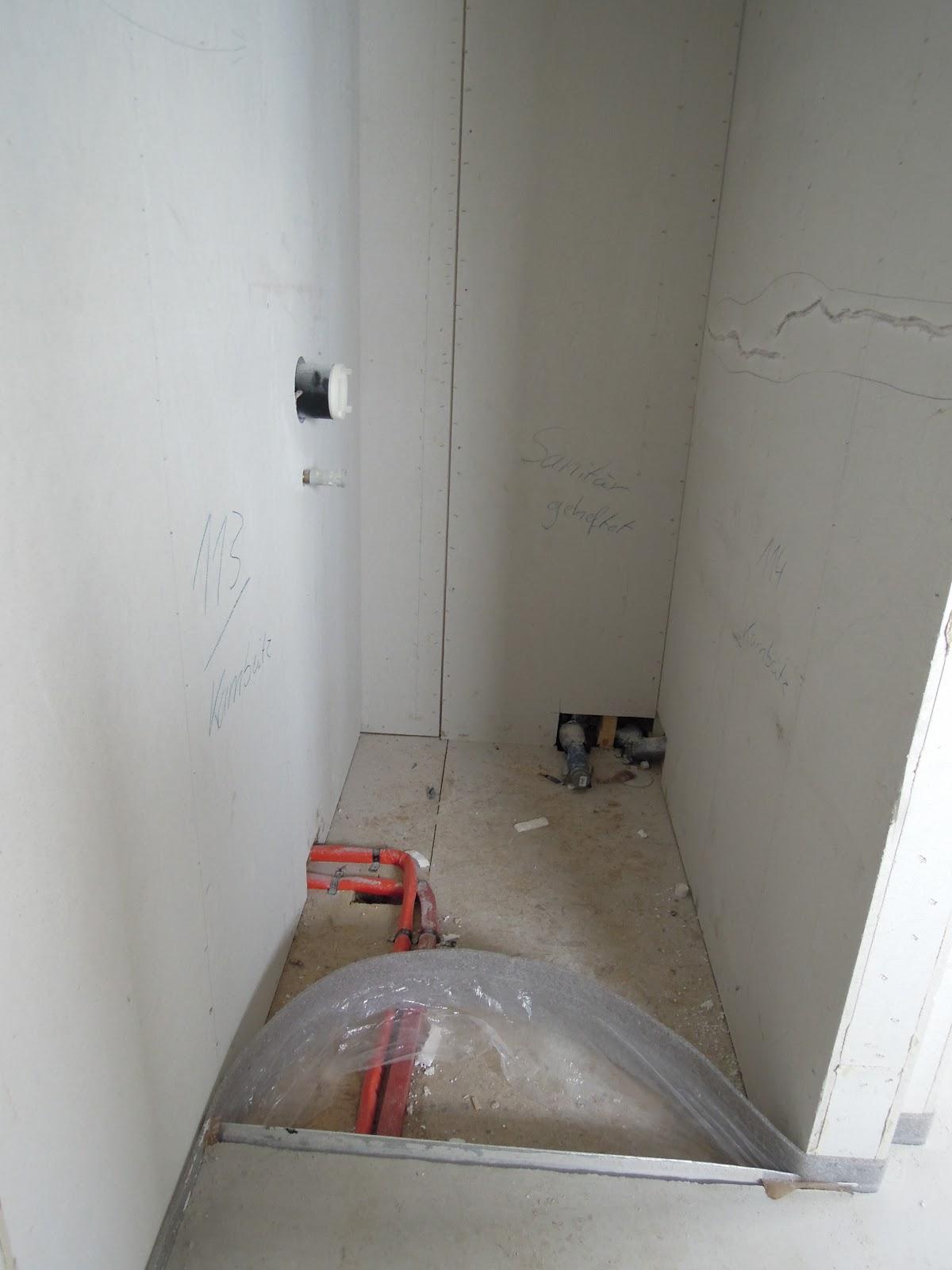 Dusche Mit Gemauerter Sitzbank : begehbare dusche noch in der rohbauphase jetzt mit gemauerter sitzbank