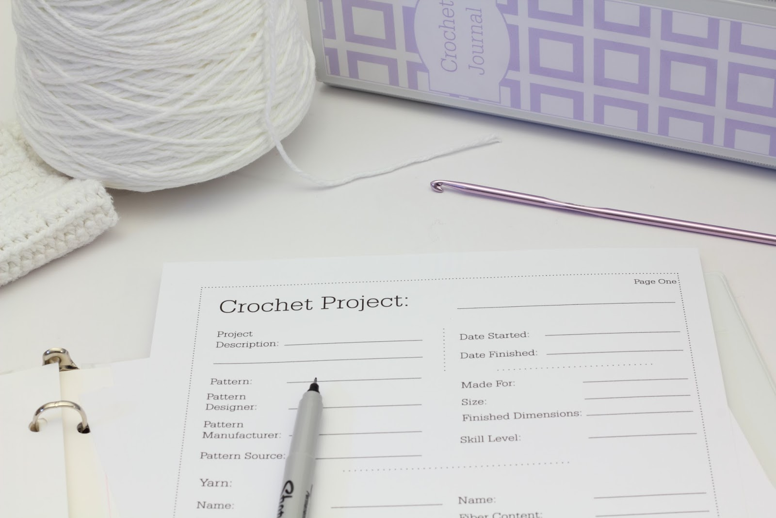 Crochet Journal : big B: Organization - Crochet Journal