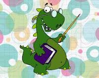 Profesor dinosaurio.