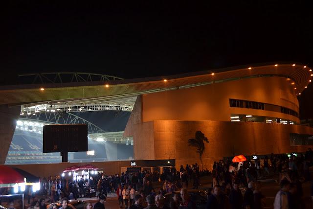 muito emocionante ver o Porto jogar