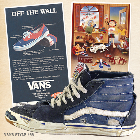 vans first