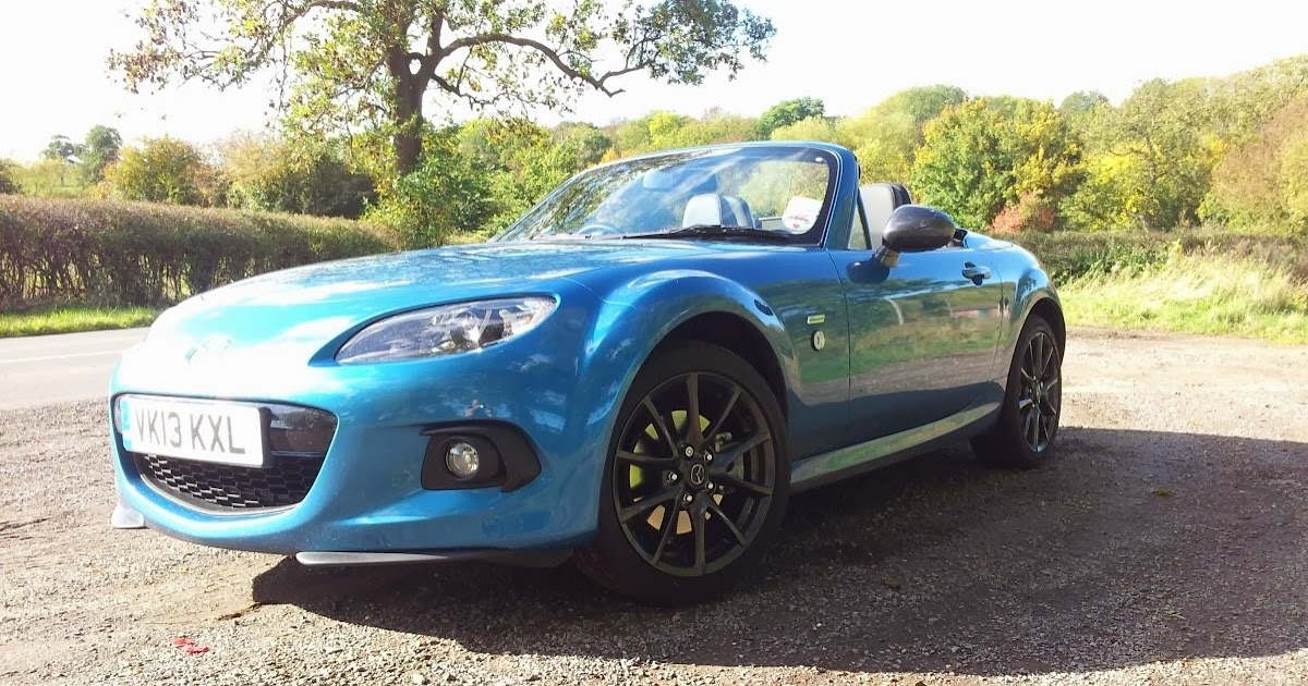 Speedmonkey: 2013 Mazda MX5 2.0i Graphite Review