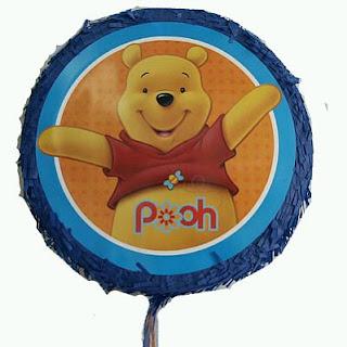 Piñatas de Winnie Pooh para Fiestas Infantiles