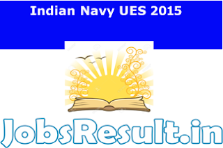 Indian Navy UES 2015