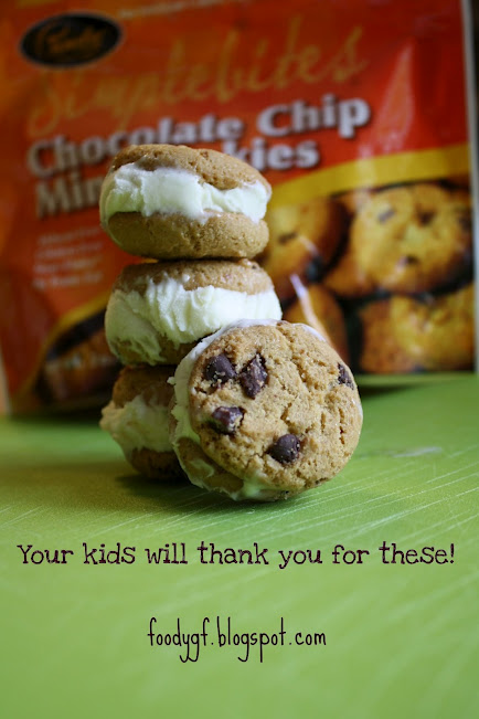 Mini Chocolate Chip Ice Cream Sandwiches Recipes — Dishmaps