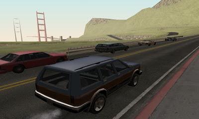 Carl Johnson GTA San Andreas Mudik Pulang Kampung