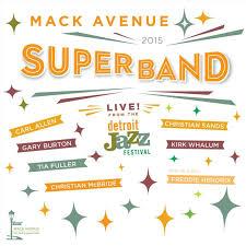 MACK AVENUE SUPERBAND: LIVE