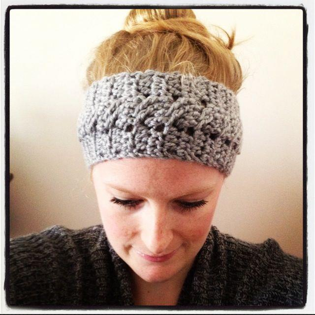 Free Crochet Headband Patterns : Sadies Basket: Cable Stitch