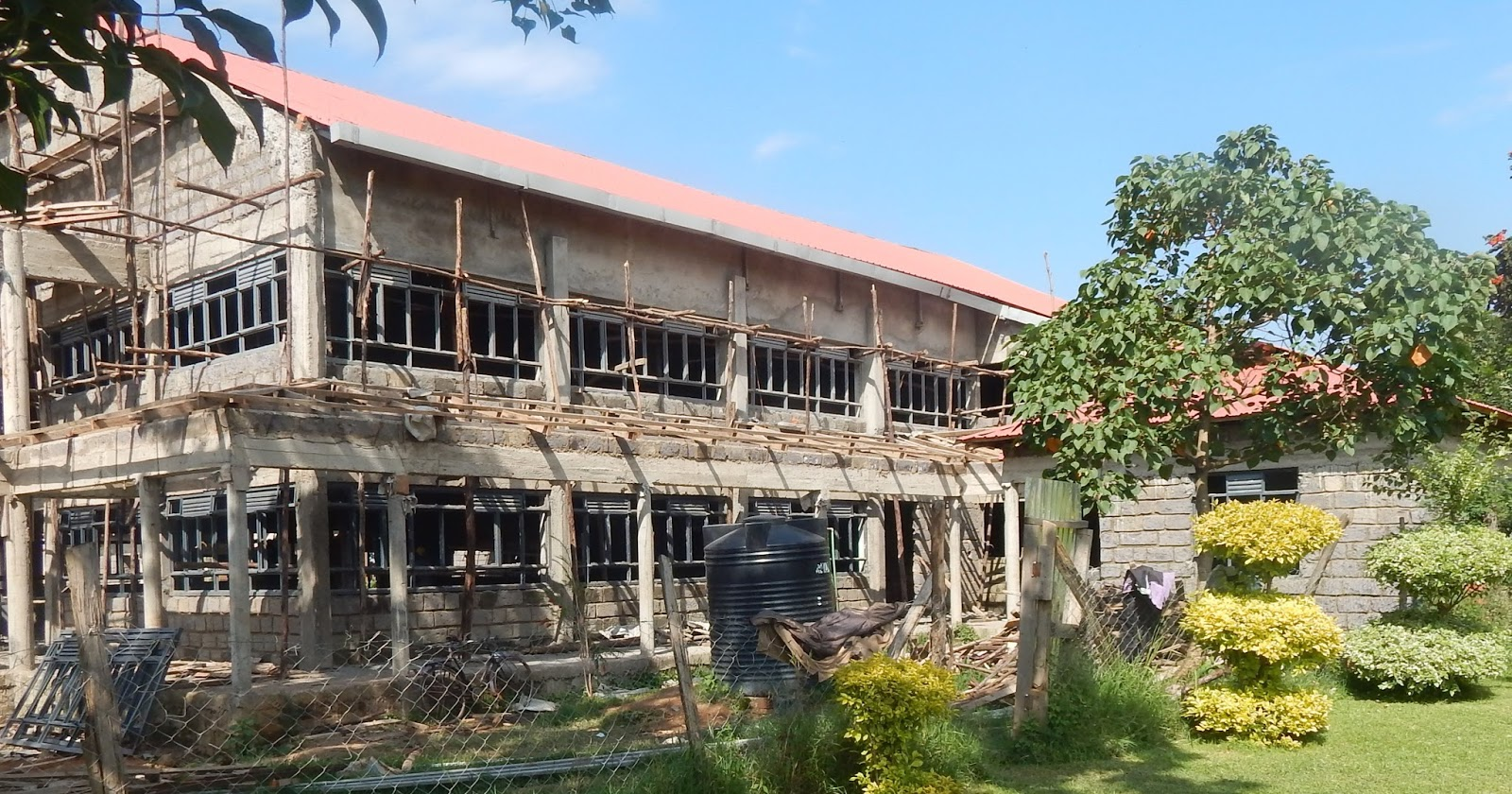 The building will be among the biggest modern churches in kakamega county upon its completion