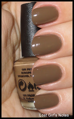 OPI a-taupe the space needle swatches and review