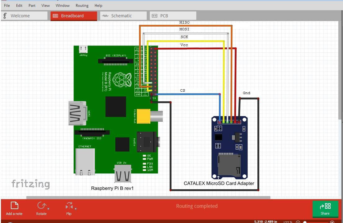 Random stuff interfacing a serial sd card logger with raspberrypi adding the connections between our raspberrypi and micro sdcard module pooptronica Choice Image