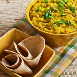... ®: Recipe for Indian-Style Red Lentils with Ginger (Red Lentil Dal