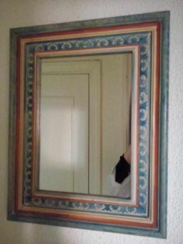 Taller de isabel m rquez marcos para espejos - Hacer marco espejo ...