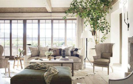 Splendid sass latest in living rooms for Richard hallberg interior design