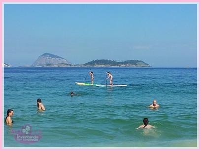 Stand Up Paddle na Praia de Ipanema no Rio de Janeiro