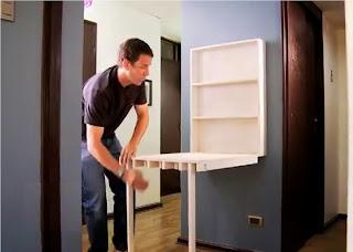 Muebles inteligentes el escritorio plegable - Muebles inteligentes ...