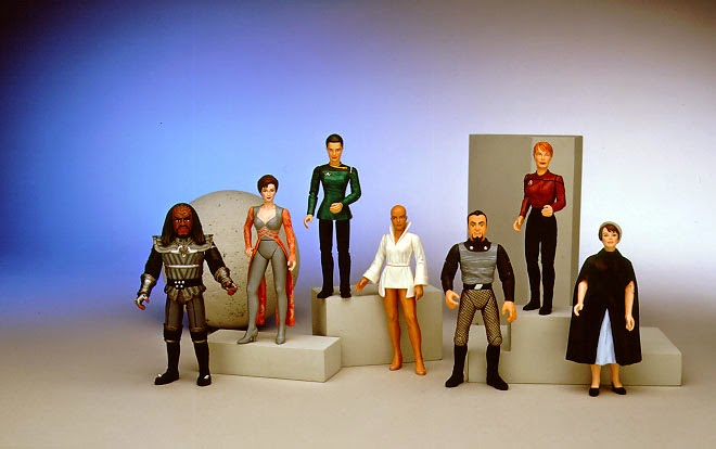 Star Trek Playmates Prototype Warp Factor Action Figures