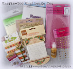 New Challenge Blog - Crafts too Challenge you