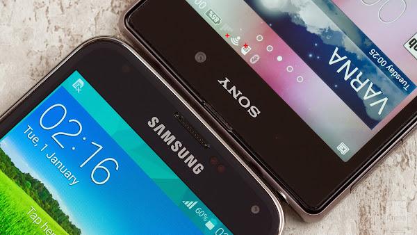 Samsung Galaxy S5 vs. Sony Xperia Z1
