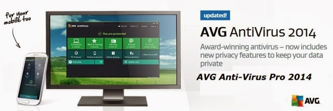 AVG antivirus pro 2014 free download Full version