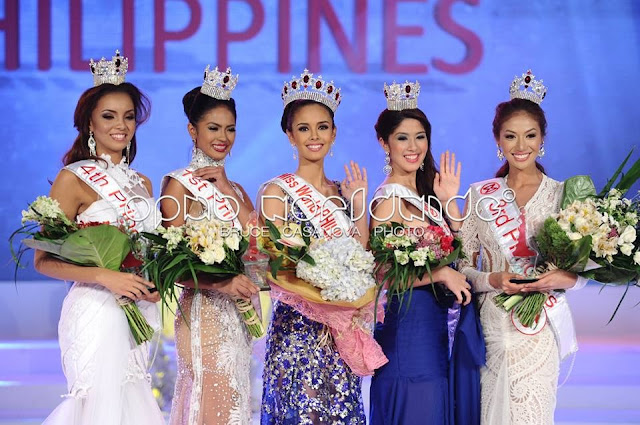 Miss World Philippines 2013: WINNERS