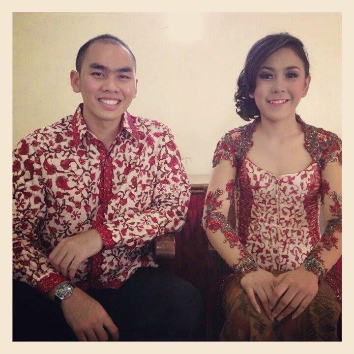 Contoh Kebaya Couple Untuk Tunangan Terbaru