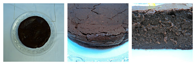 Tarta chocolateada trufada receta