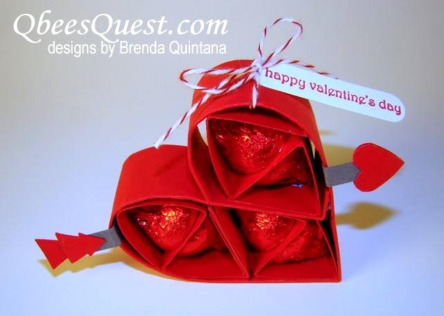 Envases de Corazones para San Valentin