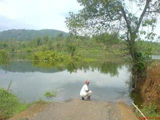 Kenaikan Permukaan Air Waduk Jatigede di Cipaku Hari Ke 103