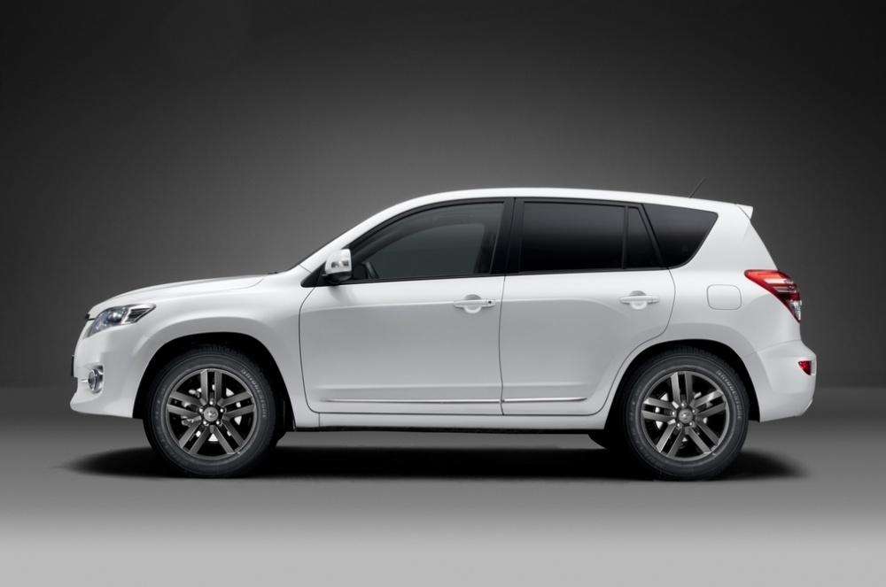 toyota rav4 white edition the white suv garage car. Black Bedroom Furniture Sets. Home Design Ideas
