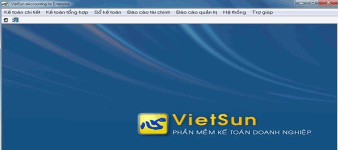 phần mềm kế toán, phần mềm kế toán vietsun