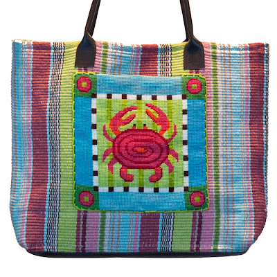 Coastal Craft - Needlepoint Tote Bag Kits