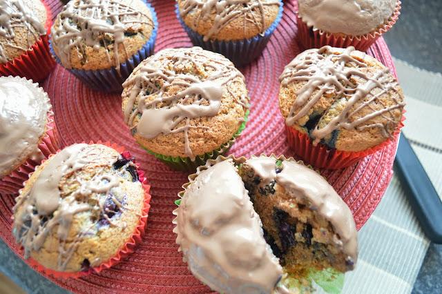 Blueberry Chocolate Muffins