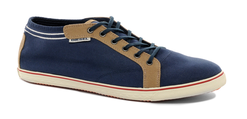 Diesel Nora Canvas Trainers ...