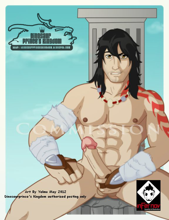 So here is the mighty Magnus from Kid Icarus Uprising, nude and rude!