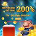 Khuyến mãi giờ vàng 200% game iOnline