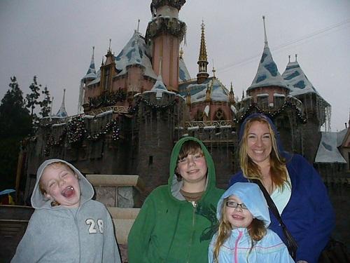 Disneyland Cold Rain