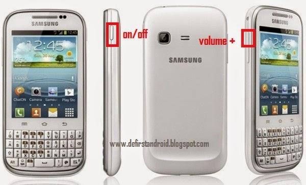 Samsung galaxy ch@t GT-B5330 Hart Reset