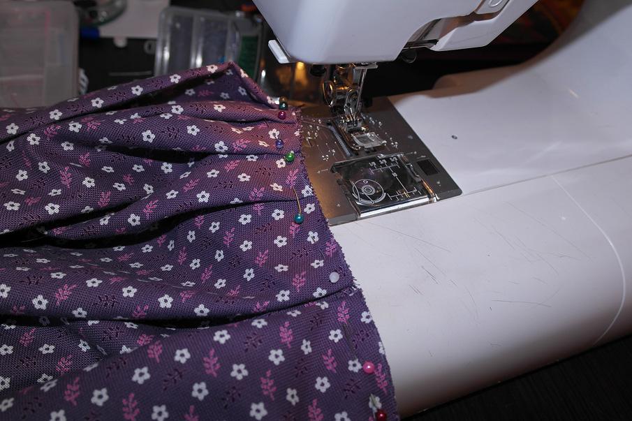 Как сшить юбку с объемную