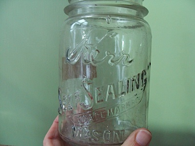 Dating old fruit jars