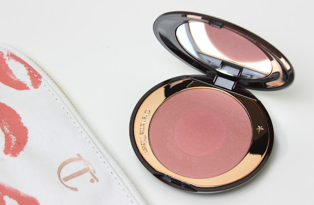 Use Charlotte Tilbury Ecstasy Cheek to Chic Swish & Pop Blusher for a Golden Goddess look