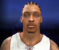 NBA 2K14 Michael Beasley Cyberface Mod