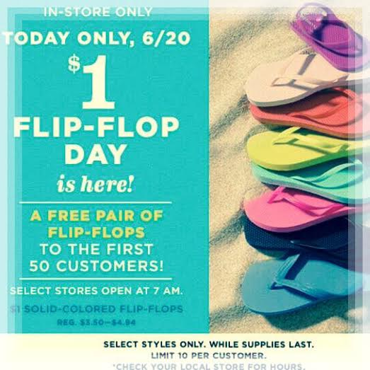 Old Navy, Flip Flops, Sale