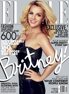 Britney Spears - Elle US October 2012
