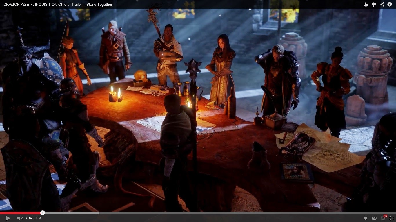 dragon age inquisition meet the companions of st