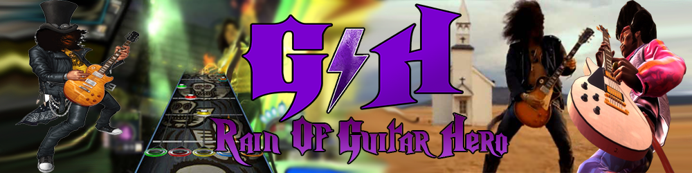 Rain Of Guitar Hero