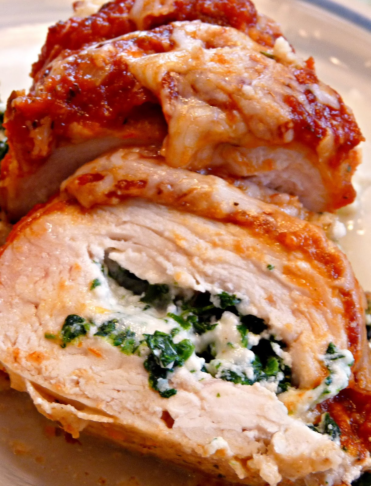 What's for Dinner?: Chicken Rollatini with Spinach alla ...