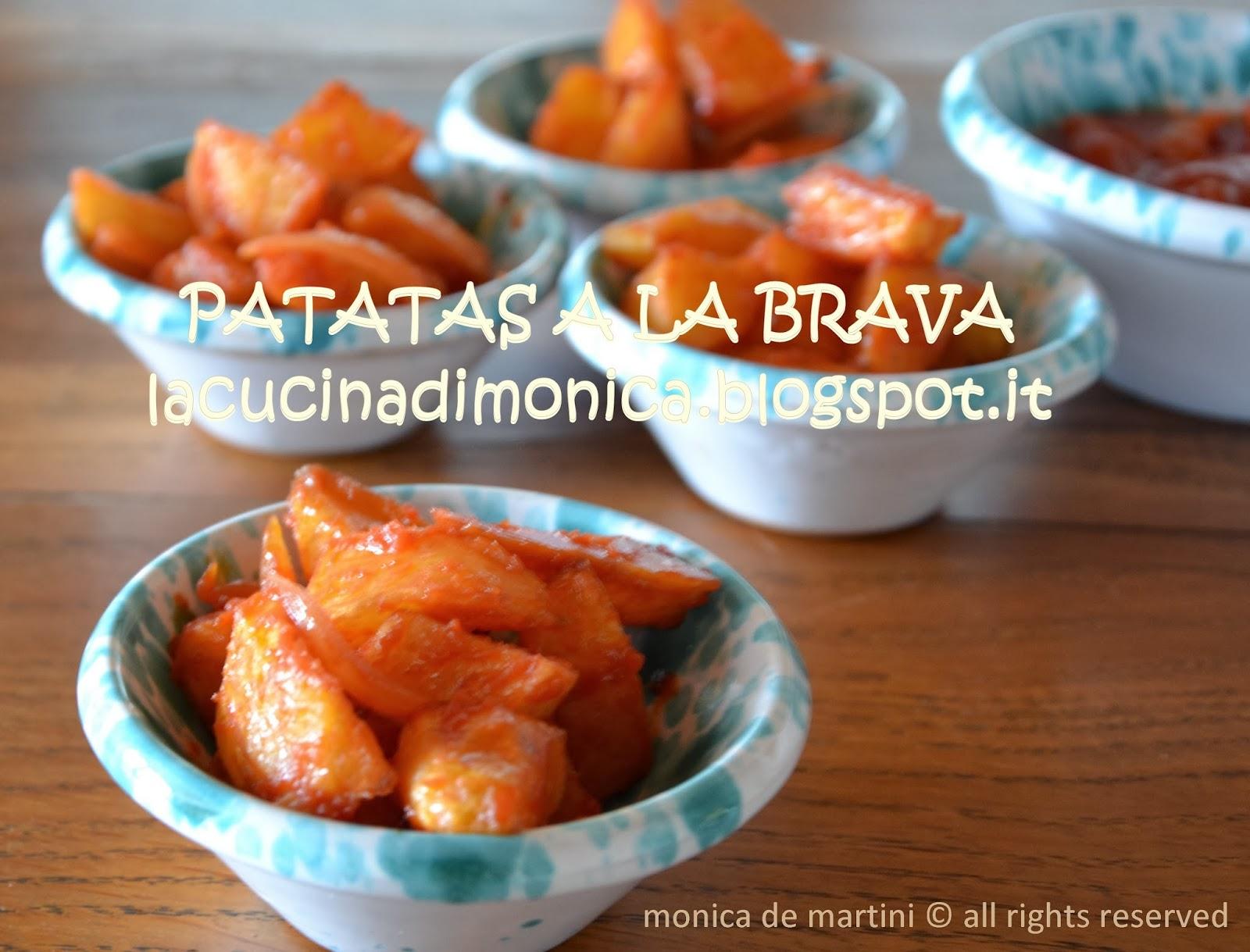 patatas a la brava - patate a la brava