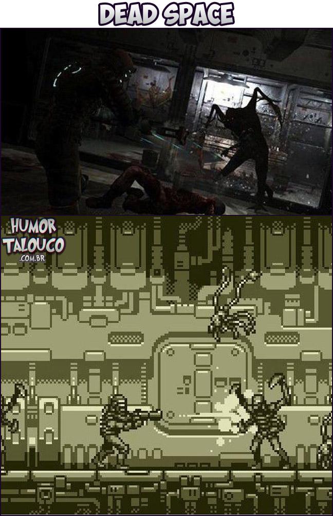 Games Atuais com Gráficos de Super Nintendo - Dead Space