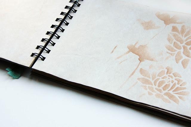 страницы состаренные в кофе